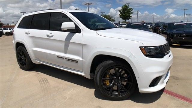 Jeep Grand Cherokee Tires >> 2018 Jeep Grand Cherokee Trackhawk 4x4